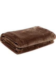 Cobertor Queen Kacyumara Blanket Marrom