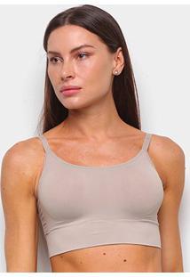 Top Liz Sutop Skinbreez 51932 Feminino - Feminino-Marrom