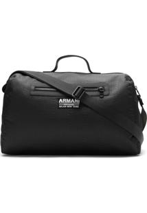 Armani Exchange Mala Com Logo - Preto