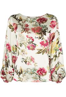 Etro Blusa Com Estampa Floral - Multicoloured