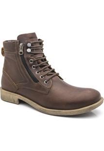 Bota Masculina Estilo Adventure Ml 826 Cor Marrom Keep Shoes - Masculino