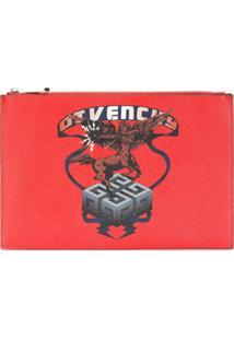 Givenchy Pouch 'Saggitarius' - Vermelho
