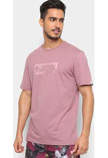 Camiseta Mcd Logo Masculina - Masculino-Rosa