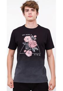 Camiseta Floral Hope Begins
