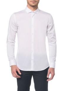 Camisa Slim Cannes Toque Suave - Branco 2 - 1