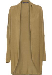 Cardigan Tricot Comfort - Verde