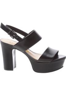 Sandália Double Meia Pata Black | Schutz