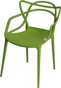 Cadeira Master Allegra Polipropileno Verde - 21401 - Sun House