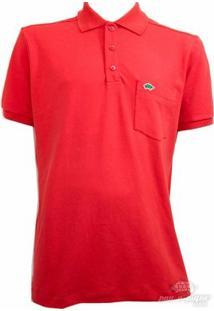 Camisa Pau A Pique Polo - Masculino-Laranja