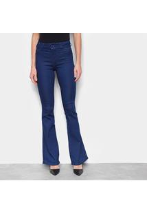 Calça Jeans Flare Biotipo Feminina - Feminino