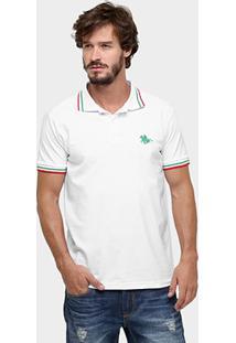 Camisa Polo Rg 518 Bordada - Masculino