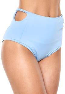 Calcinha Clube Bossa Hot Pant Spirale Azul