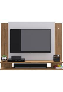 Painel Para Tv Ate 32 Polegadas Lov-It Decibal Moveis Naturalle/Branco Off