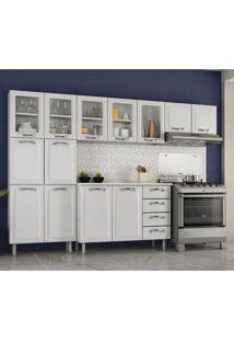 Cozinha Compacta Premium 13 Pt 4 Gv Branca
