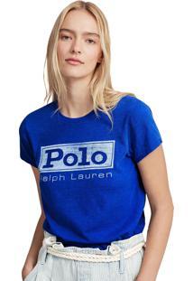 Camiseta Polo Ralph Lauren Reta Azul