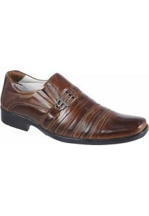 Sapato Social Confort Ranster Mestiço - Masculino-Marrom
