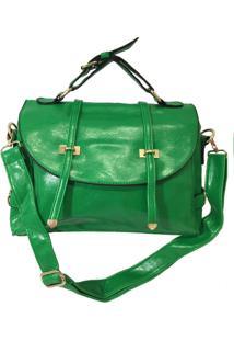Bolsa Aphrodite By Elizabeth Carteiro Transversal Verde