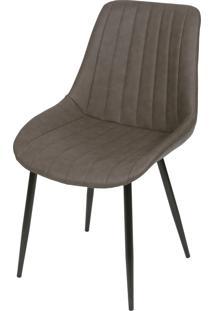 Cadeira Volga Sem Braço Brazos Lyard - Café