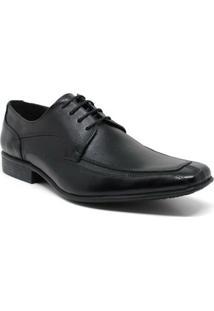 Sapato Social Couro Pórtice Masculino - Masculino-Preto