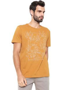 Camiseta Forum Estampada Caramelo