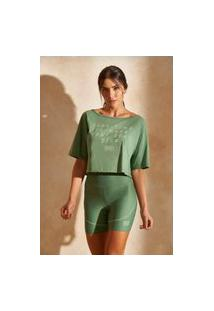 Camiseta Colcci - Verde Campeche
