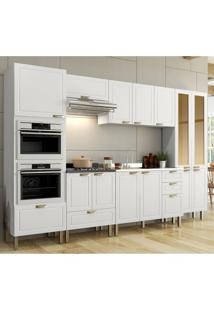 Cozinha Completa 7 Peças Americana Multimóveis 5657Mf Branco