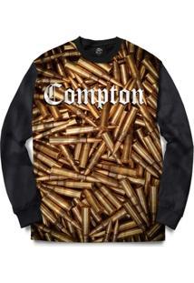 Blusa Bsc Compton Ammunition Full Print - Masculino