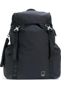 Emporio Armani Drawstring Backpack - Preto