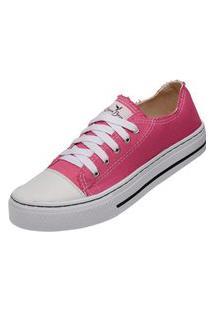 Tênis Sapatenis Casual Feminino Mr Try Shoes Rosa Cano Baixo