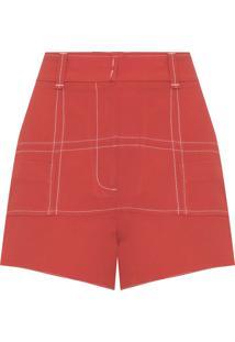Shorts Feminino Zi - Laranja