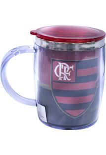 Caneca Minas De Presentes Flamengo Vermelha - Kanui