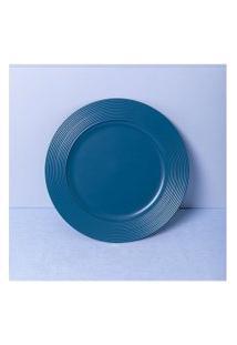 Sousplat Roma Cor: Azul - Tamanho: Único