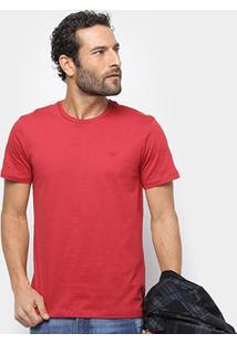 Camiseta All Free Básica Masculina - Masculino-Vermelho