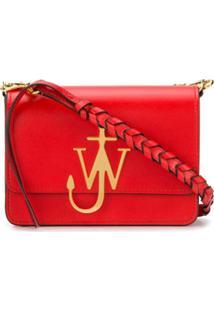 Jw Anderson Anchor Shoulder Bag - Vermelho