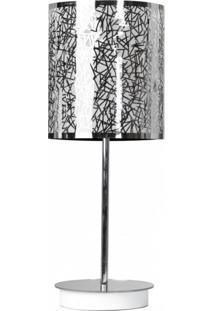 Abajur Para 1 Lâmpada Cilíndrico 1306 Jd Molina Palito