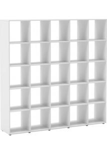 Nicho Mudular 5X5 Dominox Belmax Branco