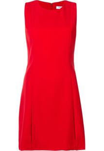 Calvin Klein Jeans Vestido Amplo - Vermelho