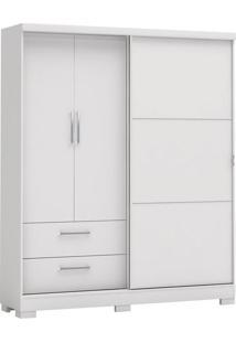 Guarda-Roupa 3 Portas Kappesberg C533, Branco