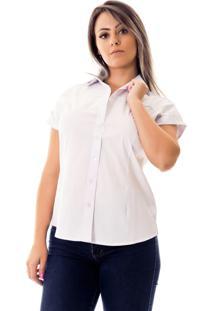 Camisa Pimenta Rosada Laura Branca
