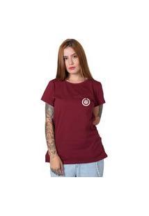 Camiseta Stoned Basic Bordô