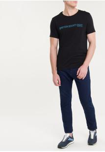 Camiseta Ckj Mc Est Nineteen - Preto - Pp