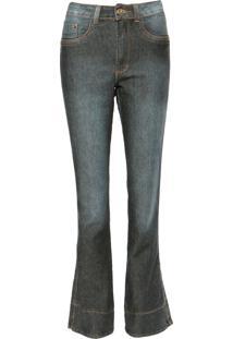 e27519bf4c2fd ... Calça Jeans Fiveblu Flare Pespontos Azul