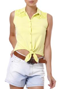Camisa Art Livre Amarela