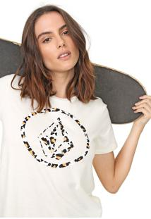 Camiseta Volcom Wild Thing Off-White