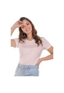 Blusa Feminina Enjoy Branco (30000) G Rosa