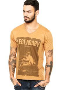 Camiseta Vynil Legendary Caramelo