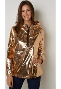 Jaqueta Le Lis Blanc Sue Gold Shine Dourado Feminina (Gold, 36)