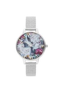 Relógio Olivia Burton Feminino Aço - Ob16Us11