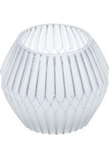 Castiçal Chinese Balloon - Incolor & Cinza Claro - 9Urban