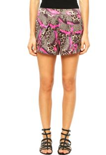 Short Lucy In The Sky Print Onça